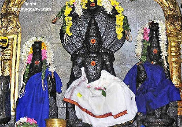 Raaghu Koil, Thirunageshwaram - Karthi Travels | Tirupattur - Navagraha Temples Tour Package